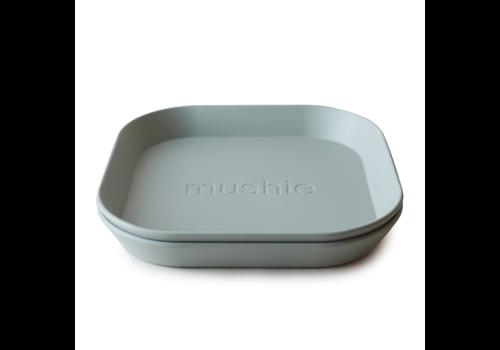 Mushie Mushie Plates Square - Sage