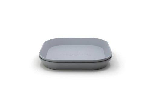 Mushie Mushie Plates Square - Cloud
