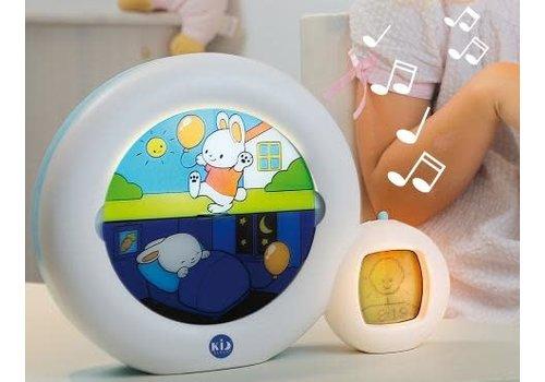 Kidsleep Wekker LED Wit