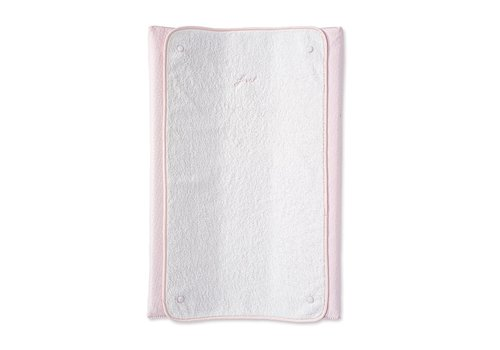 My First Collection First Alix Changing Pad Cover & Towel Blush Pink
