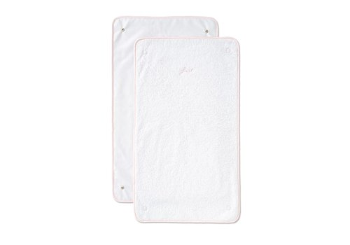 My First Collection First Alixis Changing Pad Extra Towels Blush Pink