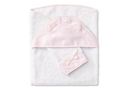 My First Collection First Arne Badcape & Washandje Blush Pink