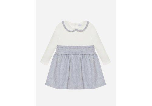 Patachou Patachou Girl Dress Knit Dark Melange