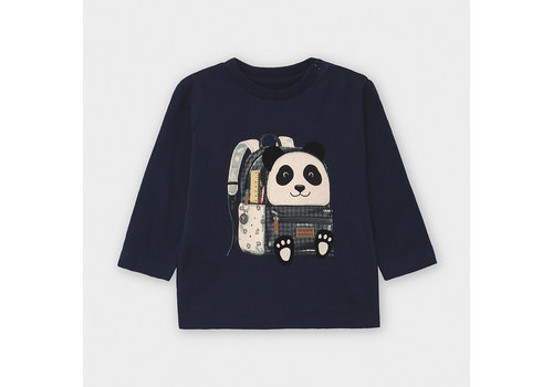 Mayoral Mayoral L/s Backpack T-Shirt Blue