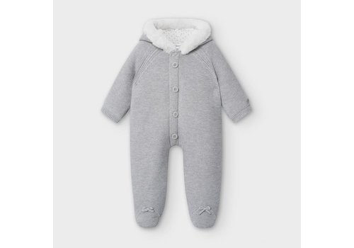 Mayoral Mayoral Knit Overall Gray
