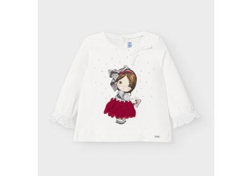 Mayoral Mayoral L/s T-Shirt Carmine Re
