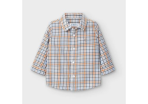 Mayoral Mayoral L/s Check Shirt Cheddar