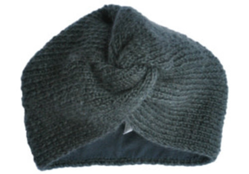 Hats Over Heels Hats Over Heels Turban Hat Dark Grey