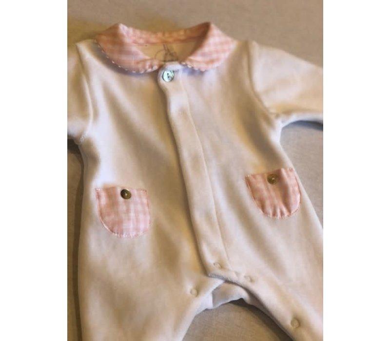Laranjinha Babygrow I0038 Class Pink