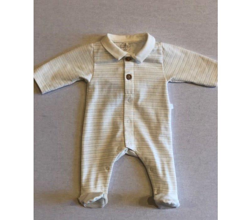Laranjinha Babygrow I0152 Blue Str