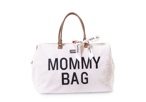 Childhome Childhome Mommy Bag Groot Teddy Ecru