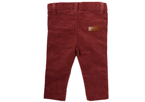 Natini Natini Pants Rib Bordeaux