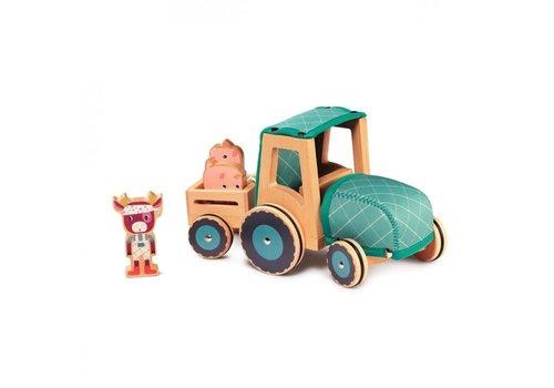 Lilliputiens Lilliputiens Rosalie Tractor