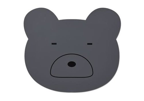 Liewood Liewood Placemat Bear Stone Grey