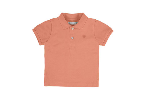 Mayoral Mayoral Basic S/S Polo Apricot 102-62