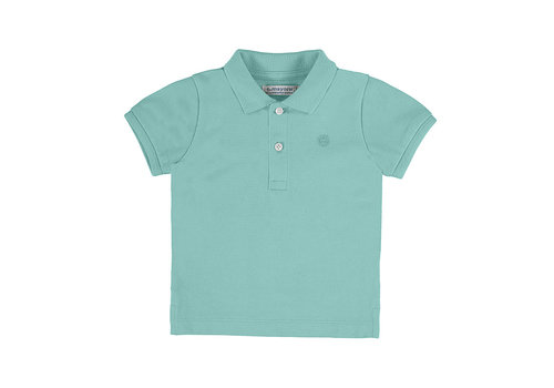 Mayoral Mayoral Basic S/S Polo Aqua 102-63