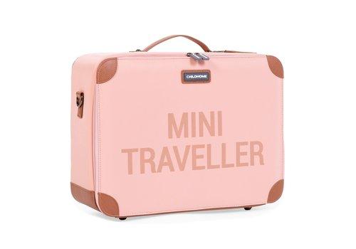Childhome Childhome Mini Traveller Valiesje Roze/Koper