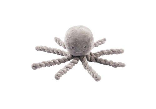 Nattou Nattou Octopus Grijs
