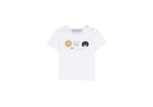 Tartine Et Chocolat Tartine & Chocolat T-shirt Blanc TS10071-01