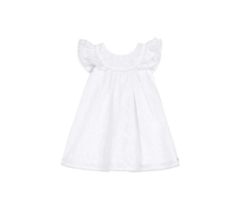 Tartine & Chocolat Robe Blanc TS30141-01
