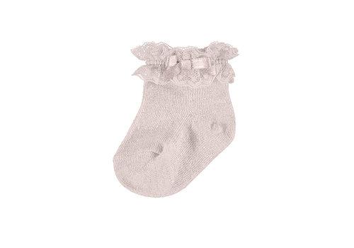Mayoral Mayoral Dressy Socks Pale Blush 9367-86