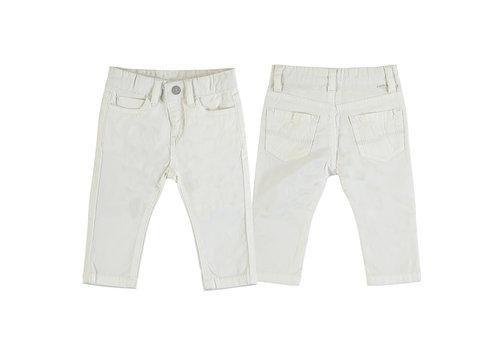 Mayoral Mayoral Basic Slim Fit Serge Pants Cream 506-79