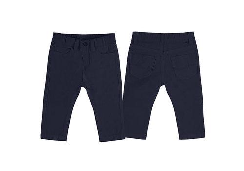 Mayoral Mayoral Basic Slim Fit Serge Pants Navy 506-84