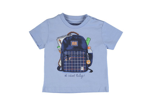 """Mayoral Mayoral S/S T-Shirt """"Play"""" """"Backpack""""Lavender 1011-23"""