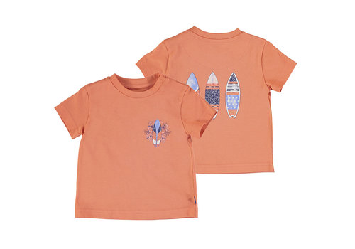 Mayoral Mayoral S/S T-Shirt Apricot 1012-55