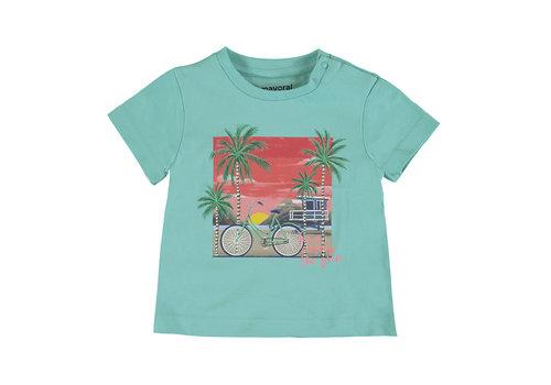 Mayoral Mayoral S/S T-Shirt Aqua 1013-81