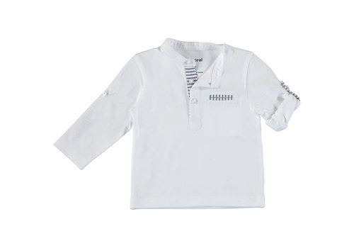 Mayoral Mayoral L/S T-Shirt White 1016-91