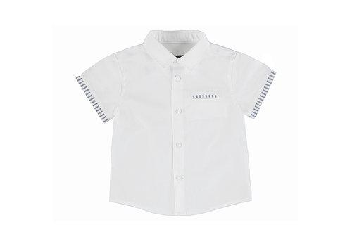 Mayoral Mayoral Short Sleeve Dress Shirt White 1113-95