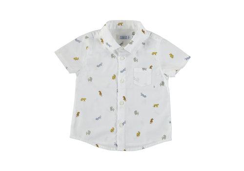 Mayoral Mayoral S/S Shirt White 1114-95