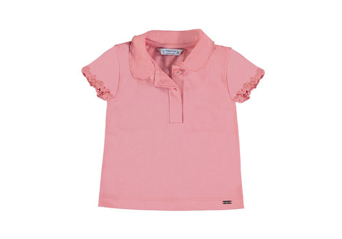 Mayoral Mayoral S/S Polo Flamingo 1176-32