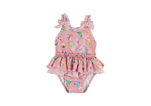 Mayoral Mayoral Girl Swimsuit Flamingo 1719-73
