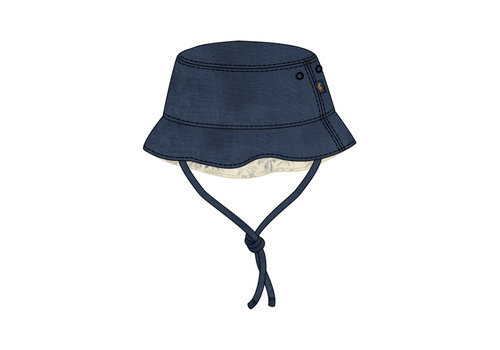 Mayoral Mayoral Linen Hat Navy 10015-40