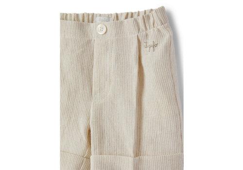Il Gufo Il Gufo Bermuda Shorts Small Beige Line