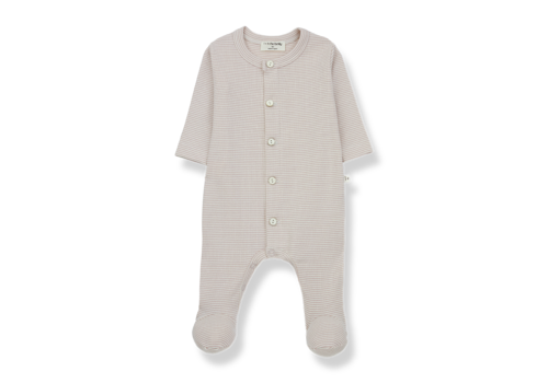 1+ In The Family 1+ In The Family Delphine Jumpsuit With Feet Nude