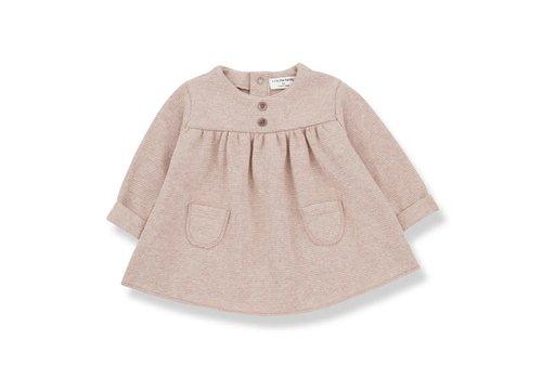 1+ In The Family 1+ In The Family Chardonnet Dress Beige/Rose