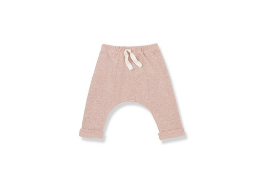 1+ In The Family 1+ In The Family Avoriaz Baggy Pants Beige/Rose