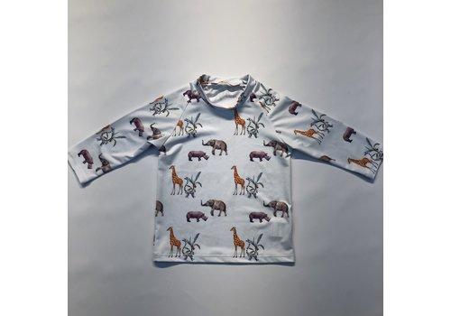 Maria Bianca Maria Bianca Animals Lycra Shirt