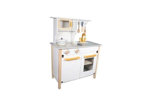 Tryco Tryco - Wooden Kitchen White & Gold