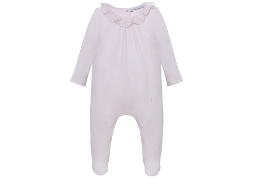Patachou Patachou Baby Girl Playsuit- Knit Jersey Pink
