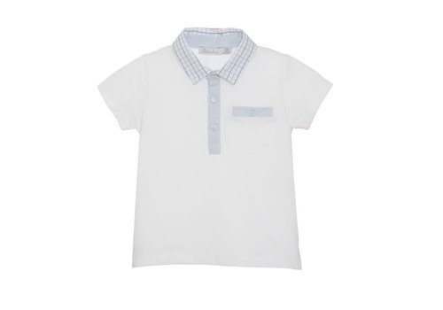 Patachou Patachou Boy Polo - Knit White