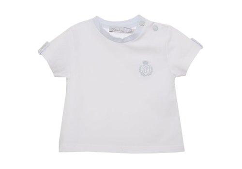 Patachou Patachou Baby Boy T-shirt - Knit White