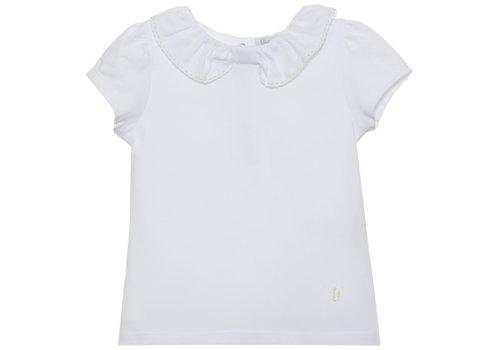 Patachou Patachou Girl T-shirt - Knit White