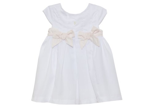 Patachou Patachou Girls Dress - Woven White