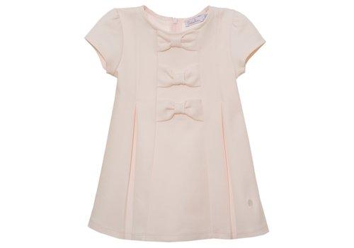 Patachou Patachou Girls Dress - Knit Pale Pink