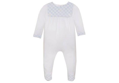 Patachou Patachou Baby Boy Playsuit - Knit White