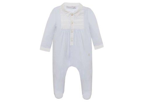 Patachou Patachou Baby Boy Playsuit - Knit Jersey Blue